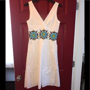 Jessica Howard Floral Embroidered Dress